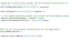 Daily Learning – Adding a global filter for authorization in ASP.NET Core